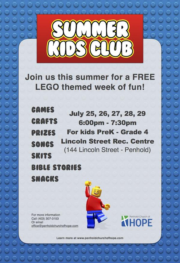 Kids Club Poster